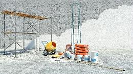 水包水多彩涂料施工时要注意这几点