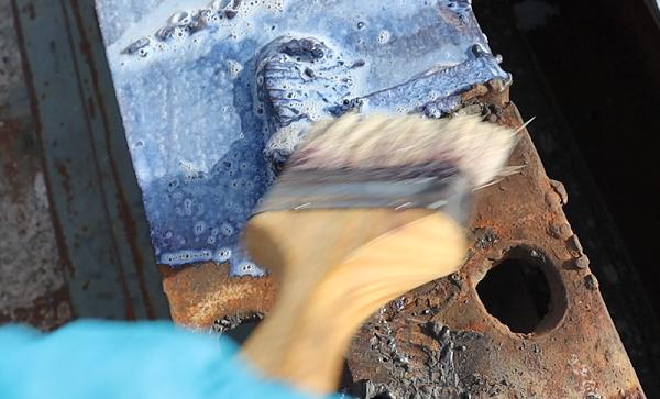 锈转化剂的表面处理涂装